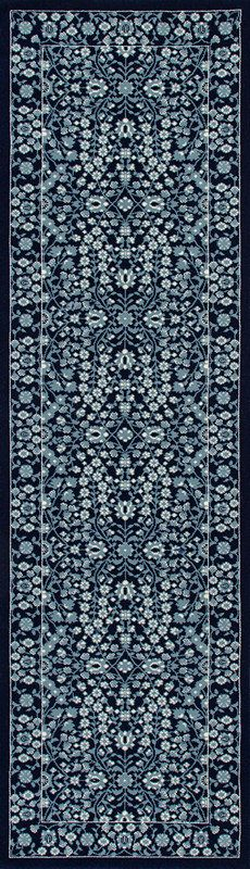 Art Carpet Kensington Microfloral Navy  Rug
