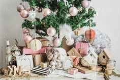 Christmas tree by Tatjana Ristanic for Stocksy United