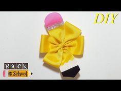 Como Hacer Lazos DIY #170 Lazo Lapiz Tutorial - YouTube Making Hair Bows, Diy Hair Bows, Diy Bow, Hair Bow Tutorial, Glitter Hair, How To Make Hair, Pencil, Youtube, June