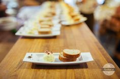Levanduľové maslo s čerstvou bagetou