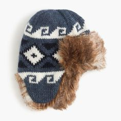 crewcuts Boys Fair Isle Trapper Hat (Size S-M Kid) Holiday Gift Guide 82ab6705a91c