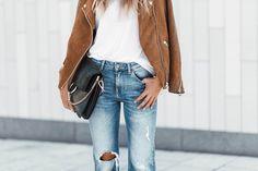 Jeans & jacket, H&M. Bag, Chloé. _ Hej babes! Så här ser jag inte…