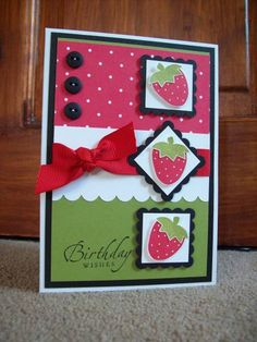 CC216 Real Tarty Triple... by Devlinwhite - Cards and Paper Crafts at Splitcoaststampers  (Feb'13)