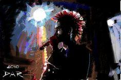 Jared Leto. Digital drawing.