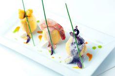 Causa (pulpo, shrimp & red snapper)