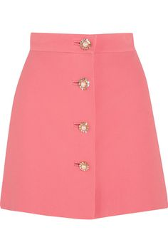 Pink cady  Button fastenings through front  100% viscose; lining: 100% polyester Dry clean  Made in Italy