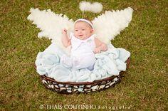baby girl photo shoot, angel sessão de fotos bebe menina, anjinho