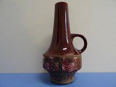 Carstens Malmö große Vase Keramikvase Heinz Siery 60er 70er