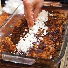Onion and Olive Enchiladas Recipe - Saveur.com
