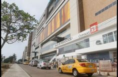 Fachada del Plaza Bocagrande.