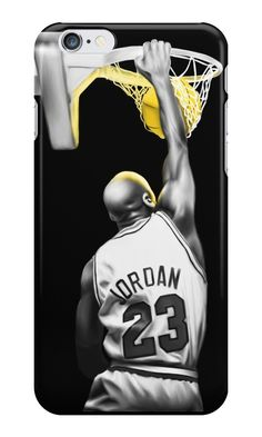 lebron dunking apple logo case. jordan by smartwork #iphone6 #cases #iphone #apple #case #custom # lebron dunking apple logo case k