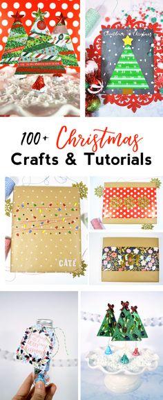 Our FAVORITE Christmas crafts and tutorials | 100+ Christmas Craft Ideas | Kids Christmas Crafts | Christmas Decor | Christmas Printables