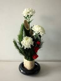 japanese new years flower arrangement - Google Search
