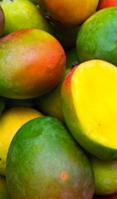 """Love a mango but feel like you never get all the """"meat"""" out of it when you cut it? Here is a great video that will show you how to properly slice a mango in a matter of seconds!"""