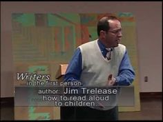 "Jim Trelease - The Read-Aloud Handbook - 2001 - ""We are an oral species. Read Aloud Revival, Child Care, Fourth Grade, Esl, Communication, Writer, Author, Parenting, Songs"