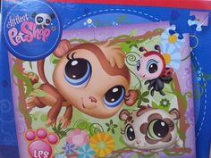 Littlest Pet Shop Ladybug #856 Monkey #1450 #LPS 100 Piece Puzzle  #Hasbro #LittlestPetShop #puzzles #games #educational #LYLACS_4u #interactivelearning
