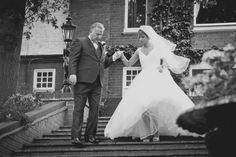 bride and dad <3