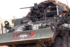 Combat Engineer Stryker in Iraq