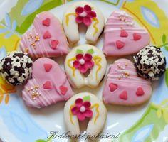 svatební cukroví inspirace - Recherche Google Fancy Cakes, Sugar, Cookies, Google, Desserts, Food, Crack Crackers, Tailgate Desserts, Deserts