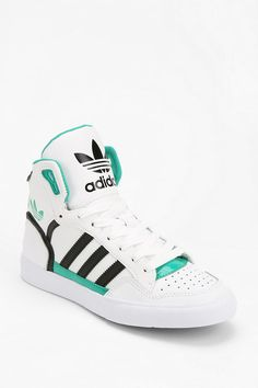 adidas Extaball Leather High-Top Sneaker ,Adidas Shoes Online,#adidas #shoes
