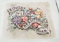 The Making of Kings of Leon 'Beautiful War' Artwork on Behance