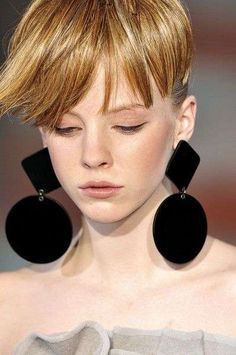 Emporio Armani earrings | Brooke Testoni Pinterest