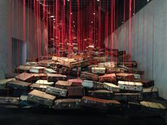 ART REVIEW: Chiharu Shiota, The New Art Gallery, Walsall.