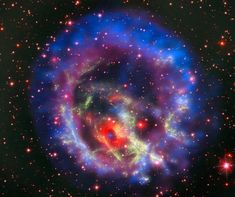 An isolated neutron star in the Small Magellanic Cloud. - ESO/NASA, ESA and the Hubble Heritage Team (STScI/AURA)/F. Vogt et al.