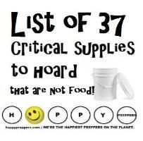 Prepping Supplies that are not food