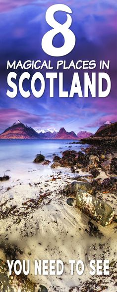 Must-see places in Scotland for you to check out. These 8 magical places in Scotland are definitely worth seeing on your next Scotland trip. Europe Travel Tips, Travel Abroad, Places To Travel, Places To Go, Travel Destinations, Budget Travel, Travel Ideas, Vacation Places, Travelling Europe