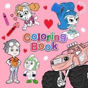 Nick Jr Coloring Book February 2018 Preschool Games Nick Jr Online Valentines