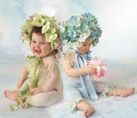 * Baby Blossom * spring * floral kids * Valerie Tabor Smith *