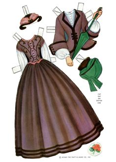 Century Dolls: 8 Dolls Complete with Authentic Wardrobes of the Civil War Years (17 of 20) by Queen Holden, Platt & Munk
