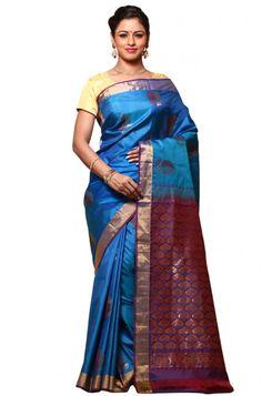 -turquoise-blue-bangalore-pure-silk-saree