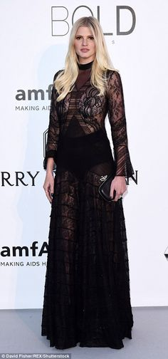 Leading the allure: Katy Perry and Lara Stone both opted to put their assets on display in...