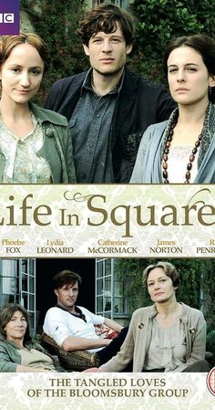 Life in Squares (TV Mini-Series ) - IMDb : With Eve Best, Ed Birch, Phoebe Fox, Andrew Havill. An intimate and emotional drama for BBC Two about the revolutionary Bloomsbury group. Tv Series To Watch, Movies To Watch, Good Movies, James Norton, Love Movie, Movie Tv, Period Drama Movies, British Period Dramas, Eve Best