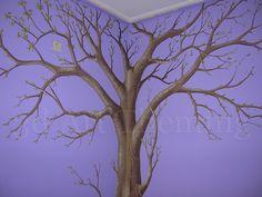 τοιχογραφία σε δωμάτιο κοριτσιού