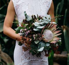 king protea bouquet by Sydney florist Petal & Fern
