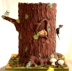 Life in a tree cake