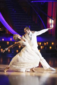 Kym Johnson & Ingo Rademacher   -  Dancing With the Stars  -  week 4  -  Season 16  -  dance celebrating his marriage to his wife