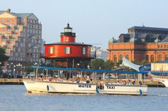 Several water taxi services located at Inner Harbor are a great way to explore Baltimore's variety of attractions.