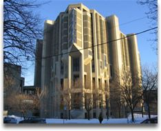 While at the University of Toronto, I 'lived' in the Political Science Reading Room (Robarts Library). I earned my Honours Bachelor of Arts in Economics and Political Science. I completed my four year degree in three years, graduating in Brutalist Buildings, Modern Buildings, Boston City Hall, University Of Toronto, Library University, Walter Gropius, Concrete Building, Building Structure, Reading Room