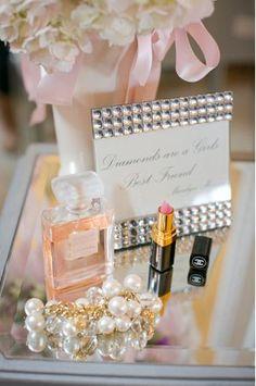 Paris theme bridal shower