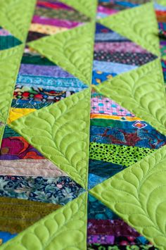 So bright and beautiful with the quilting
