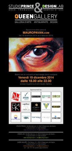 #SCALETTA by #Tubesradiatori esposta al vernissage della mostra di Mauro Pavan alla Queen Gallery di Desenzano del Garda - venerdì 19 dicembre dalle ore 18:00. [SCALETTA design Elisa Giovannoni]