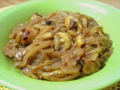 Col caramelizada con castañas | #Recetas de cocina | #Veganas - Vegetarianas ecoagricultor.com