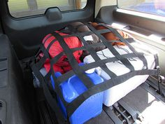 1995 - Newer Dodge Sprinter and All Year A&B Series Van, Caravan and Chrysler Town & Country Van Rear Cargo Area Net