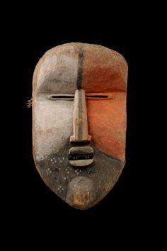 Woyo Ndunga Mask, DR Congo African Masks, African Art, Cool Masks, Awesome Masks, Ritual Dance, Tape Art, Zoology, Congo, Archaeology