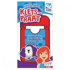 Clown Games kaartspel Kletspraat - Internet-Toys Frosted Flakes, Storytelling, Toys, Internet, Shop, Products, Paper Board, Activity Toys, Clearance Toys