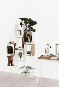 Flip shelves by Munk Collective | MyDubio